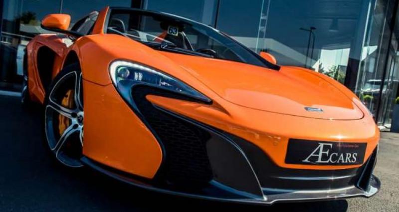 Mclaren 650S - CERAMIC BRAKES - FULL OPTION Orange occasion à IZEGEM - photo n°2
