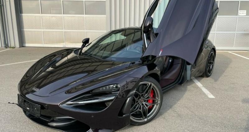 Mclaren 720s 3.8 V8 biturbo 720ch Luxury Noir occasion à Boulogne-Billancourt - photo n°4