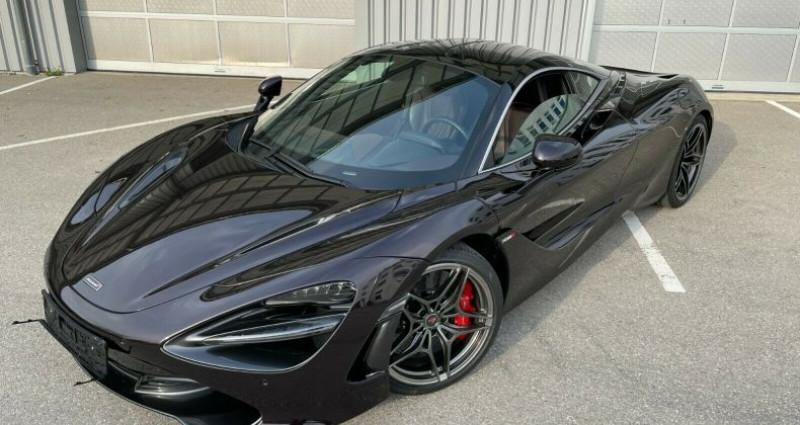 Mclaren 720s 3.8 V8 biturbo 720ch Luxury Noir occasion à Boulogne-Billancourt - photo n°3