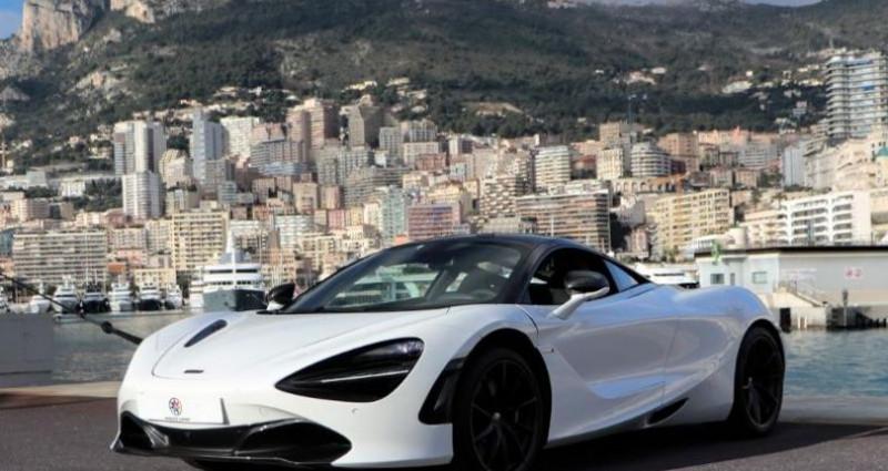 Mclaren 720s 4.0 V8 biturbo 720ch Performance Blanc occasion à MONACO