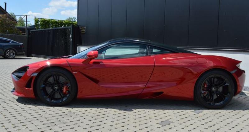Mclaren 720s Coupé V8 4.0 720ch 1 MAIN !! 6.200 km !! Rouge occasion à Lille - photo n°5