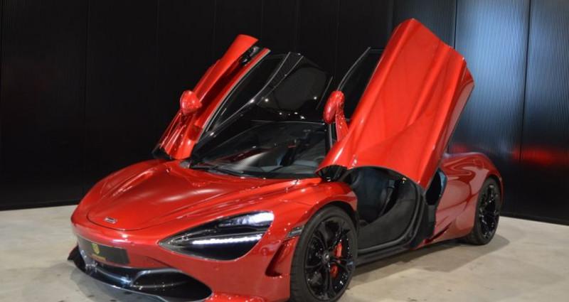 Mclaren 720s Coupé V8 4.0 720ch 1 MAIN !! 6.200 km !! Rouge occasion à Lille - photo n°6