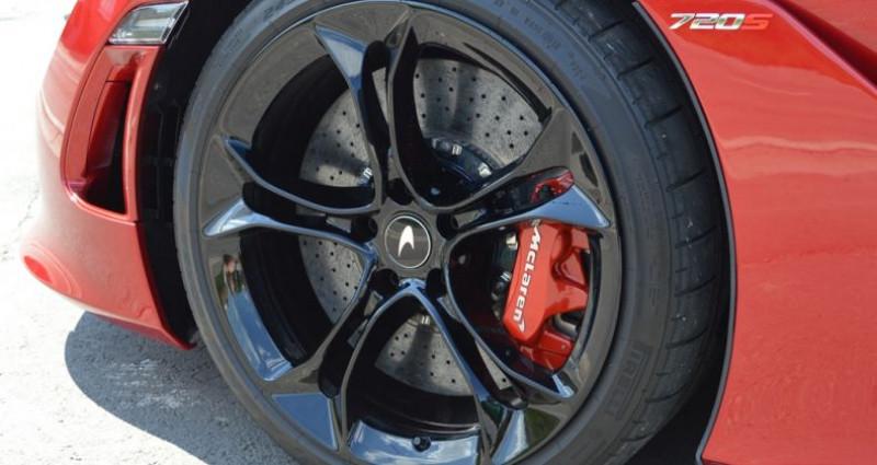 Mclaren 720s Coupé V8 4.0 720ch 1 MAIN !! 6.200 km !! Rouge occasion à Lille - photo n°7