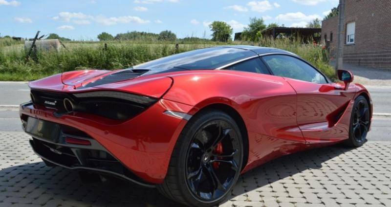 Mclaren 720s Coupé V8 4.0 720ch 1 MAIN !! 6.200 km !! Rouge occasion à Lille - photo n°2