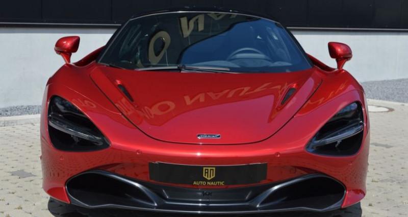 Mclaren 720s Coupé V8 4.0 720ch 1 MAIN !! 6.200 km !! Rouge occasion à Lille - photo n°3