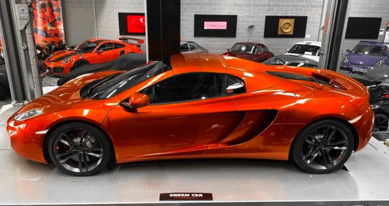 Mclaren Mp4-12c McLaren MP4 12C Spider Volcano Orange Orange occasion à SAINT LAURENT DU VAR