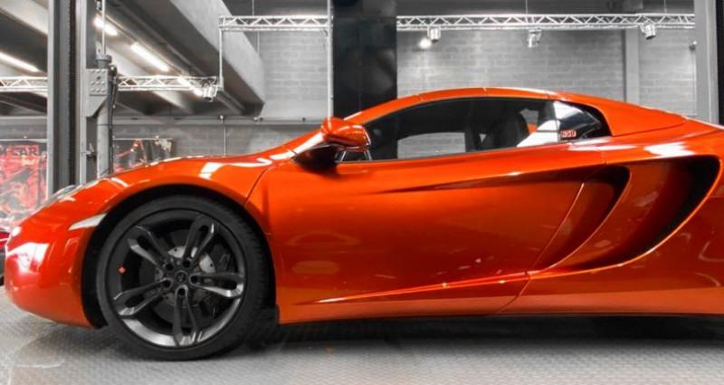 Mclaren Mp4-12c McLaren MP4 12C Spider Volcano Orange Orange occasion à SAINT LAURENT DU VAR - photo n°6