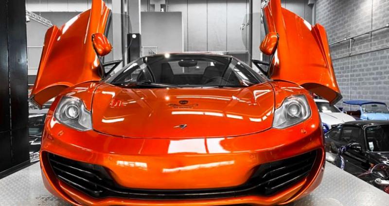 Mclaren Mp4-12c McLaren MP4 12C Spider Volcano Orange Orange occasion à SAINT LAURENT DU VAR - photo n°2
