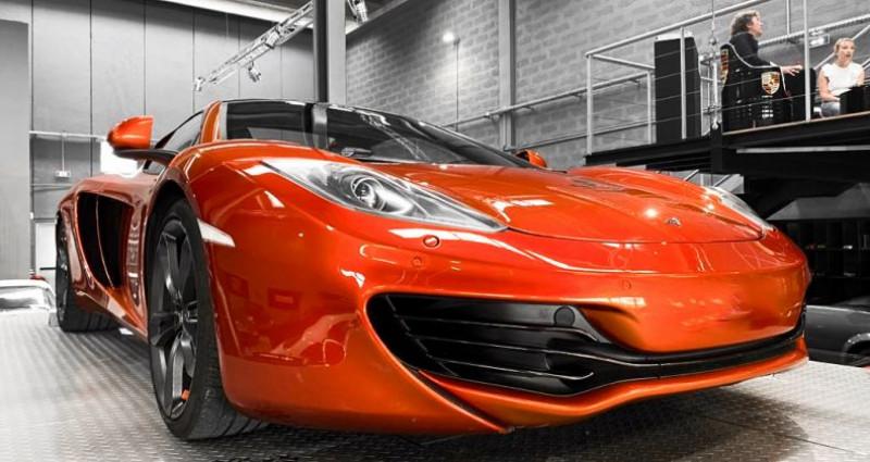 Mclaren Mp4-12c McLaren MP4 12C Spider Volcano Orange Orange occasion à SAINT LAURENT DU VAR - photo n°7