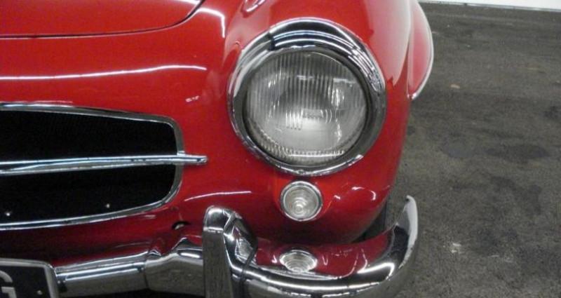 Mercedes 190 SL Rouge occasion à Charleville Mezieres - photo n°5