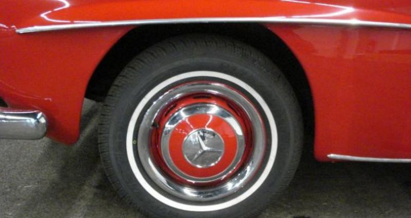 Mercedes 190 SL Rouge occasion à Charleville Mezieres - photo n°4