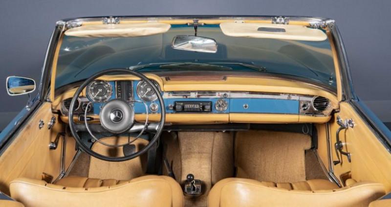 Mercedes 250 SL Pagode 1967 Bleu occasion à Brest - photo n°6