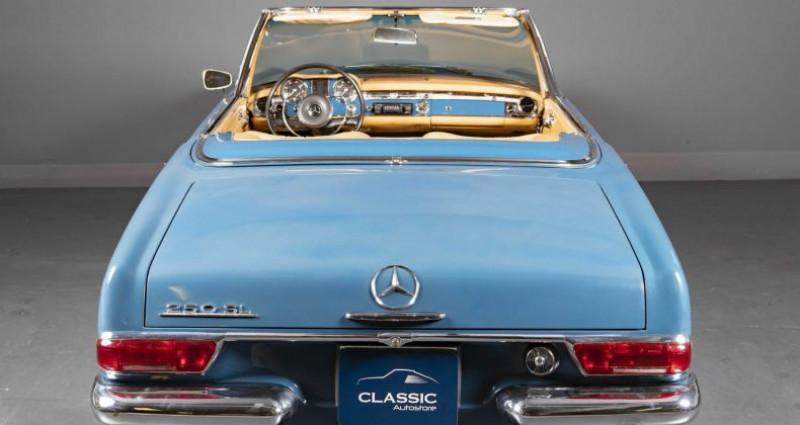 Mercedes 250 SL Pagode 1967 Bleu occasion à Brest - photo n°5