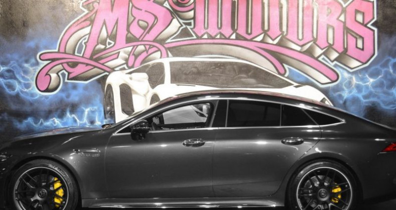 Mercedes AMG GT MERCEDES-AMG 4.0 V8 63 S 57CV 4MATIC+ 639 Gris occasion à CANNES - photo n°3