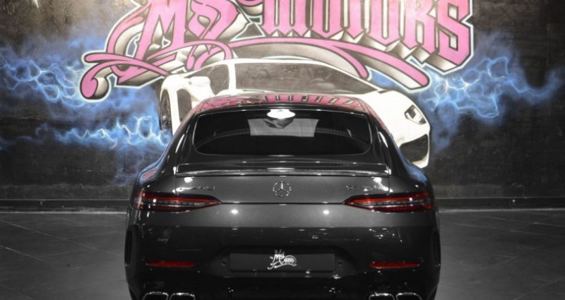 Mercedes AMG GT MERCEDES-AMG 4.0 V8 63 S 57CV 4MATIC+ 639 Gris occasion à CANNES - photo n°4