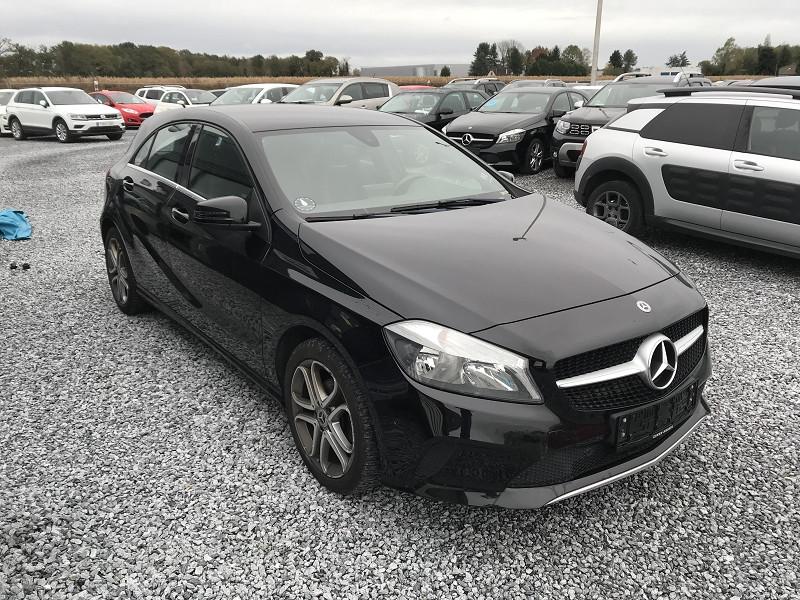 Mercedes Classe A 180 (W176) 180 D SENSATION Noir occasion à Serres-Castet - photo n°4