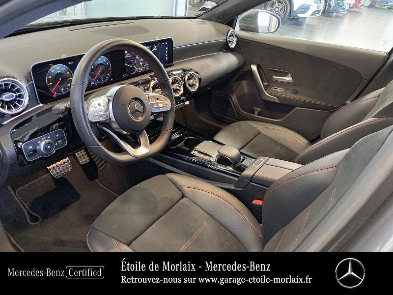 Mercedes Classe A 180 180 136ch AMG Line 7G-DCT Gris occasion à Saint Martin des Champs - photo n°17