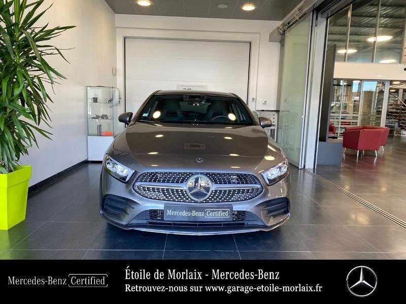 Mercedes Classe A 180 180 136ch AMG Line 7G-DCT Gris occasion à Saint Martin des Champs - photo n°5