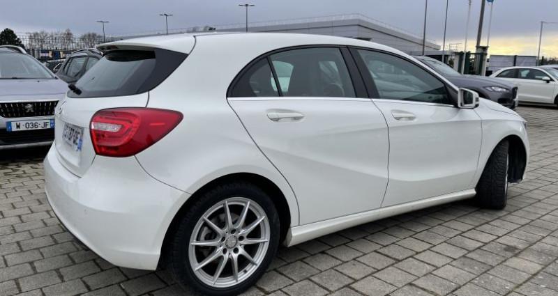 Mercedes Classe A 180 180 CDI Sensation 7G-DCT / GPS - 248/MOIS Blanc occasion à SELESTAT - photo n°3