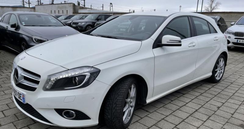 Mercedes Classe A 180 180 CDI Sensation 7G-DCT / GPS - 248/MOIS Blanc occasion à SELESTAT - photo n°2