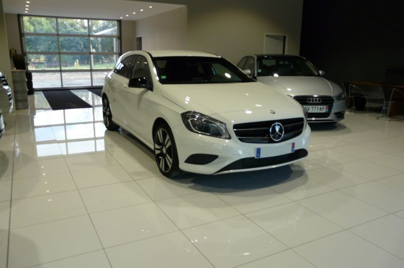 Mercedes Classe A 180 180 CDI Blanc occasion à Beaupuy - photo n°4