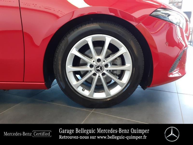 Mercedes Classe A 180 180 d 116ch Progressive Line 7G-DCT Rouge occasion à QUIMPER - photo n°14