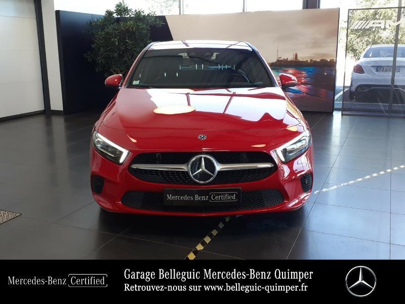 Mercedes Classe A 180 180 d 116ch Progressive Line 7G-DCT Rouge occasion à QUIMPER - photo n°5