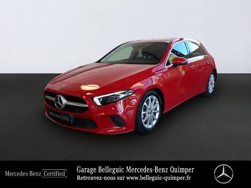 Mercedes Classe A 180 180 d 116ch Progressive Line 7G-DCT Rouge occasion à QUIMPER