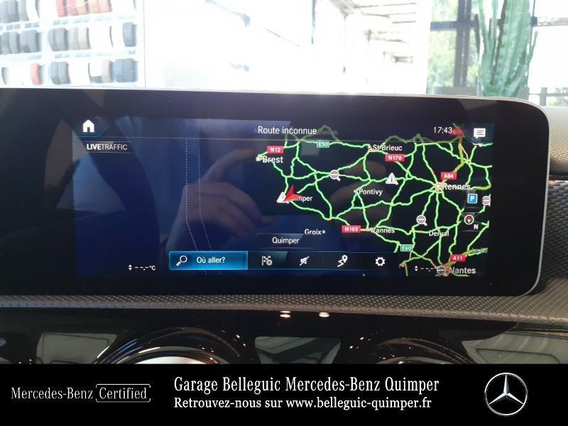Mercedes Classe A 180 180 d 116ch Progressive Line 7G-DCT Rouge occasion à QUIMPER - photo n°8