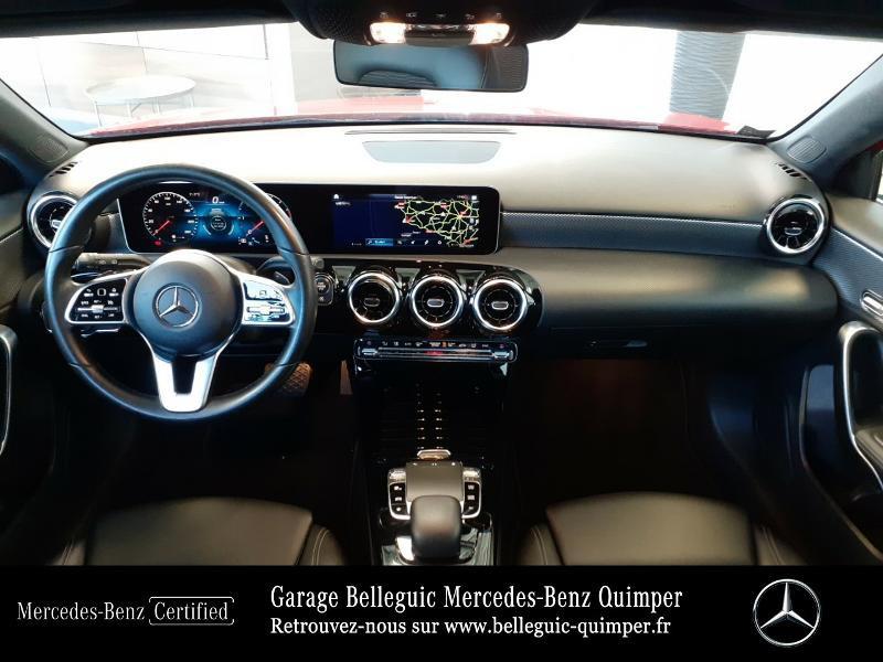 Mercedes Classe A 180 180 d 116ch Progressive Line 7G-DCT Rouge occasion à QUIMPER - photo n°6