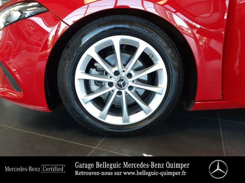 Mercedes Classe A 180 180 d 116ch Progressive Line 7G-DCT Rouge occasion à QUIMPER - photo n°15