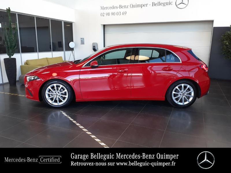Mercedes Classe A 180 180 d 116ch Progressive Line 7G-DCT Rouge occasion à QUIMPER - photo n°2