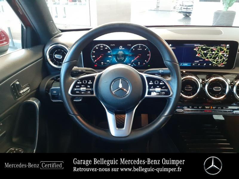 Mercedes Classe A 180 180 d 116ch Progressive Line 7G-DCT Rouge occasion à QUIMPER - photo n°7