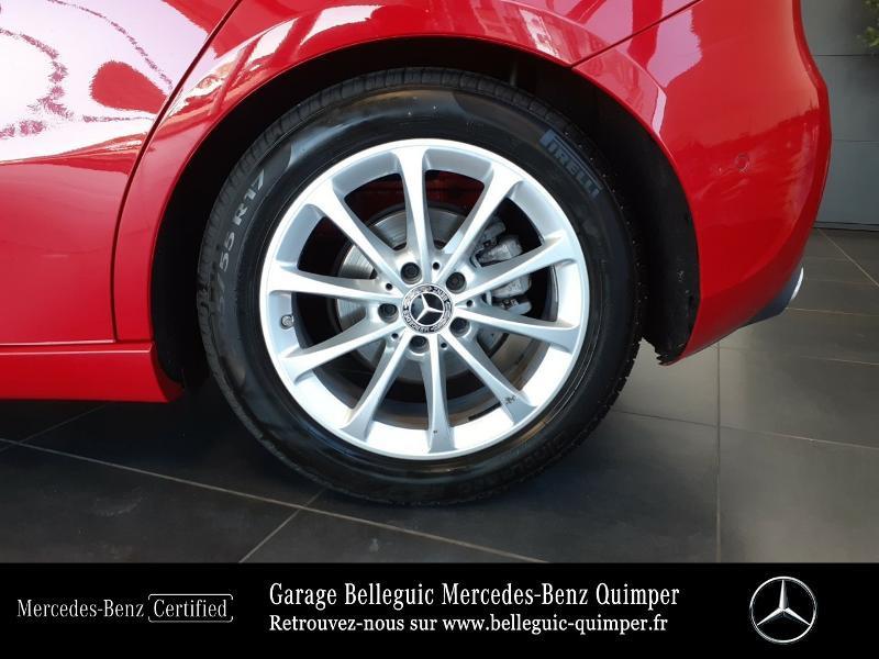 Mercedes Classe A 180 180 d 116ch Progressive Line 7G-DCT Rouge occasion à QUIMPER - photo n°16