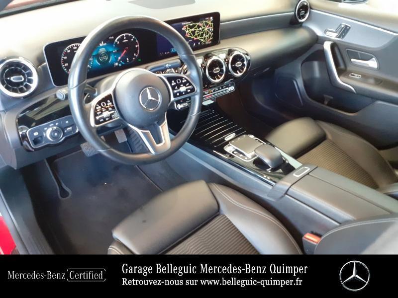 Mercedes Classe A 180 180 d 116ch Progressive Line 7G-DCT Rouge occasion à QUIMPER - photo n°18