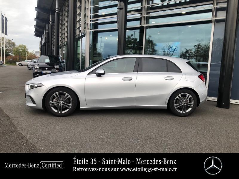 Mercedes Classe A 180 180 d 116ch Style Line 7G-DCT Gris occasion à SAINT-MALO - photo n°2