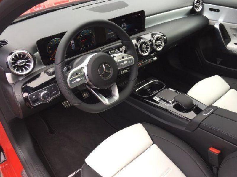 Mercedes Classe A 180 180 D AMG Nouveau Modèle Rouge occasion à Beaupuy - photo n°2
