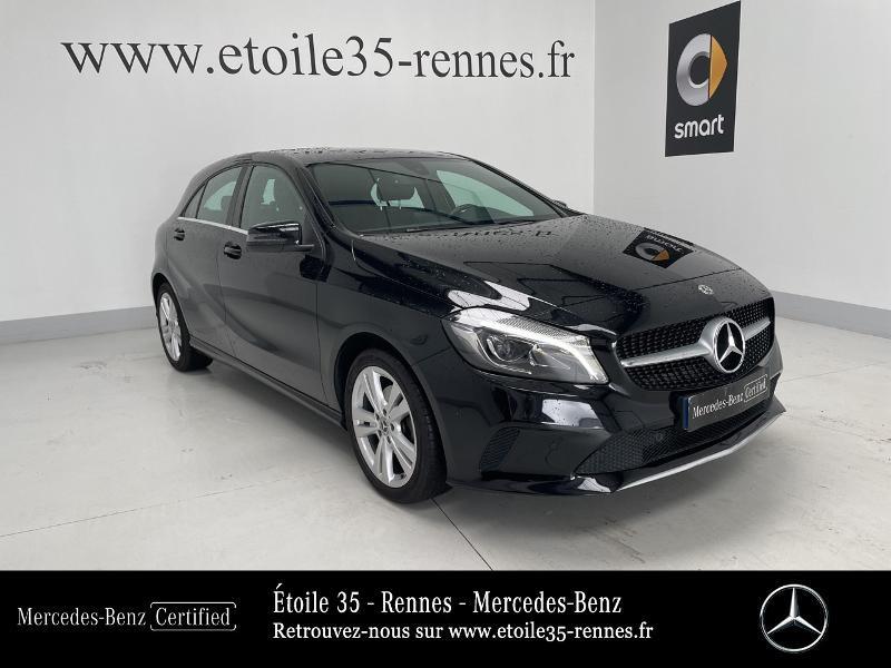 Mercedes Classe A 180 180 Sensation 7G-DCT Noir occasion à SAINT-GREGOIRE