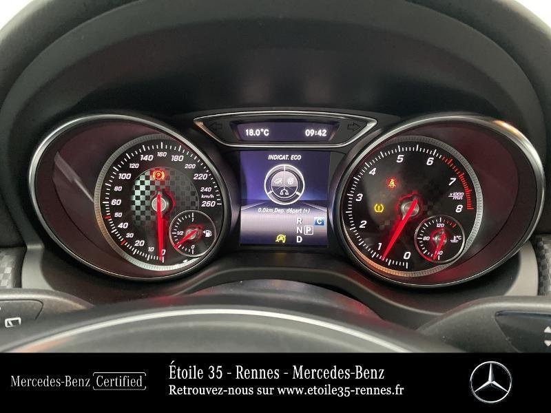 Mercedes Classe A 180 180 Sensation 7G-DCT Noir occasion à SAINT-GREGOIRE - photo n°9