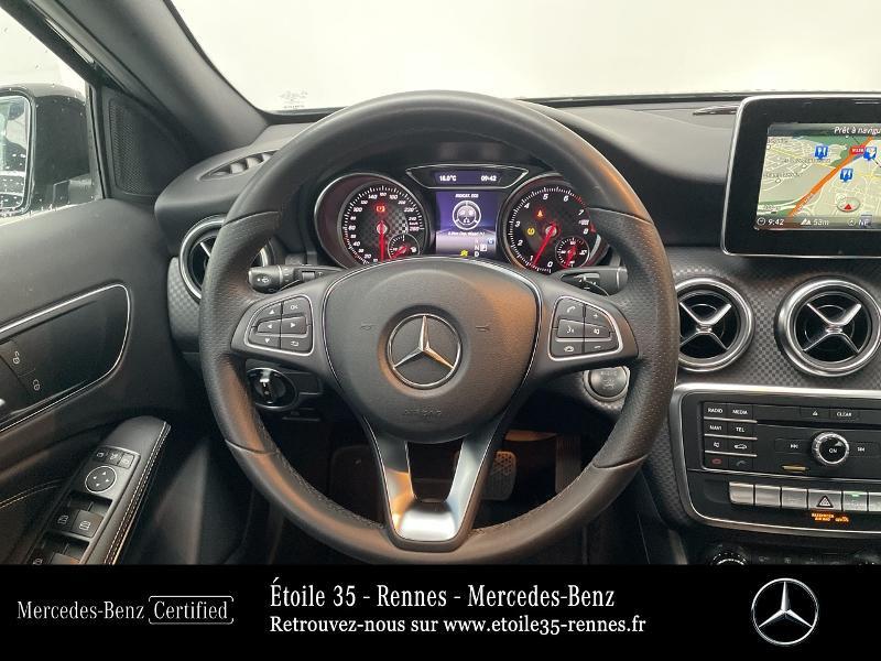 Mercedes Classe A 180 180 Sensation 7G-DCT Noir occasion à SAINT-GREGOIRE - photo n°7