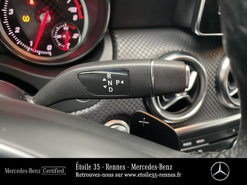 Mercedes Classe A 180 180 Sensation 7G-DCT Noir occasion à SAINT-GREGOIRE - photo n°10