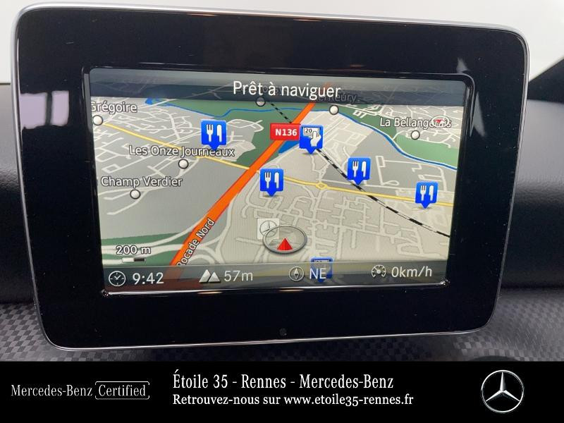 Mercedes Classe A 180 180 Sensation 7G-DCT Noir occasion à SAINT-GREGOIRE - photo n°8