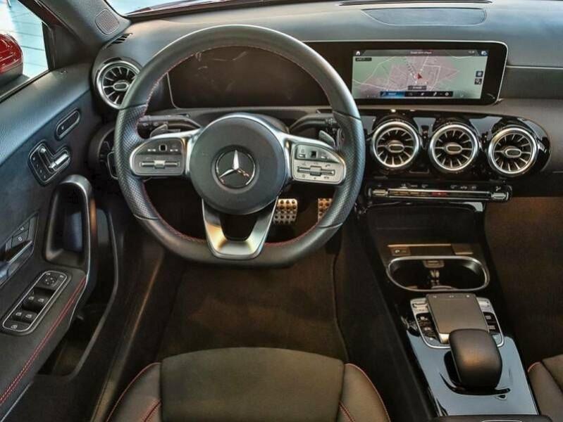 Mercedes Classe A 200 (W177) 200 163CH AMG LINE 7G-DCT Rouge occasion à Villenave-d'Ornon - photo n°7