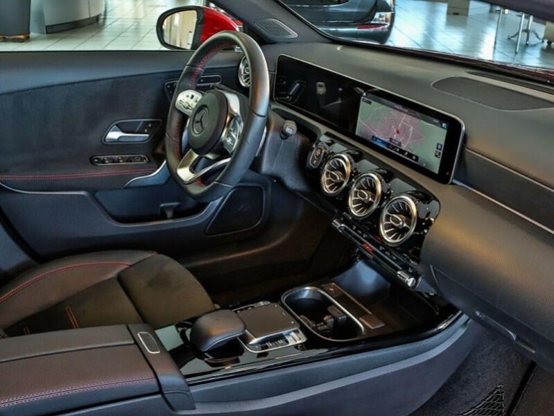 Mercedes Classe A 200 (W177) 200 163CH AMG LINE 7G-DCT Rouge occasion à Villenave-d'Ornon - photo n°5