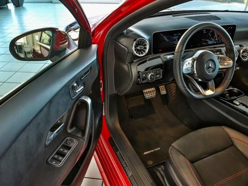 Mercedes Classe A 200 (W177) 200 163CH AMG LINE 7G-DCT Rouge occasion à Villenave-d'Ornon - photo n°9