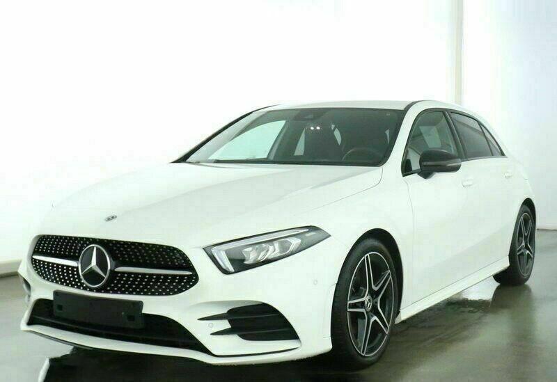 Mercedes Classe A 200 (W177) 200 D 150CH AMG LINE 8G-DCT Blanc occasion à Villenave-d'Ornon