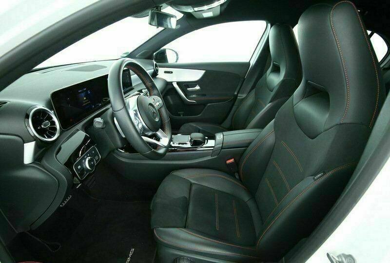 Mercedes Classe A 200 (W177) 200 D 150CH AMG LINE 8G-DCT Blanc occasion à Villenave-d'Ornon - photo n°7