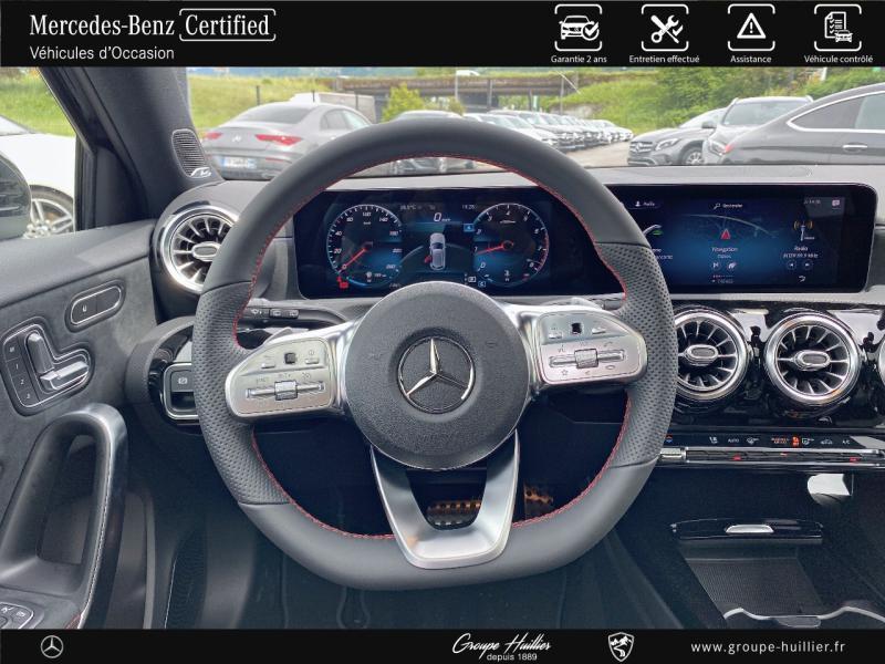 Mercedes Classe A 200 200 163ch AMG Line 7G-DCT 9cv Noir occasion à Gières - photo n°7