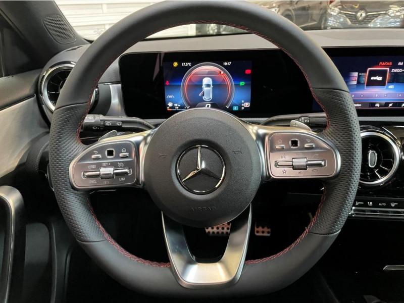 Mercedes Classe A 200 200 7G-DCT AMG Line + Options Noir occasion à Lormont - photo n°7