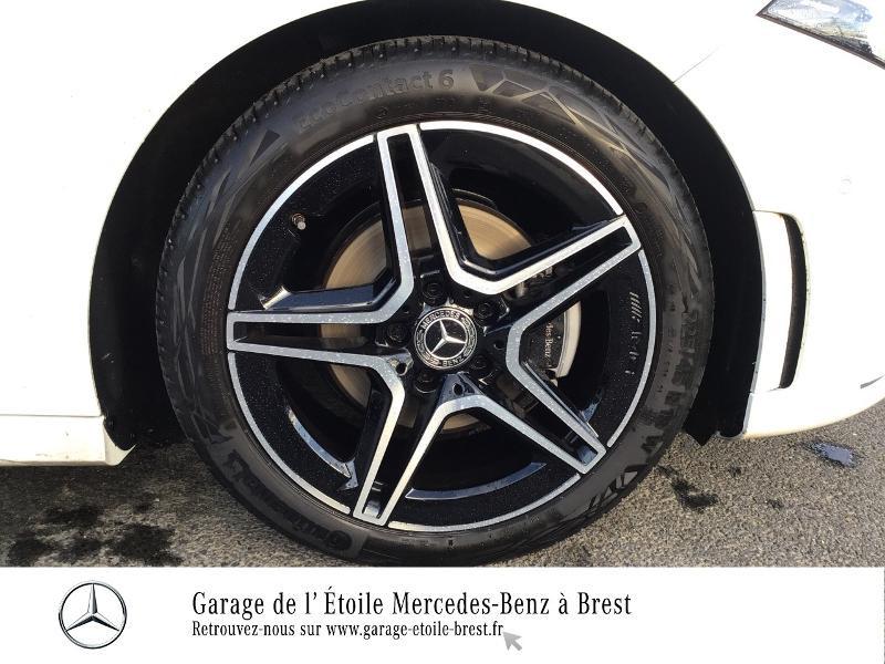 Mercedes Classe A 200 200 d 150ch AMG Line 8G-DCT Blanc occasion à BREST - photo n°16